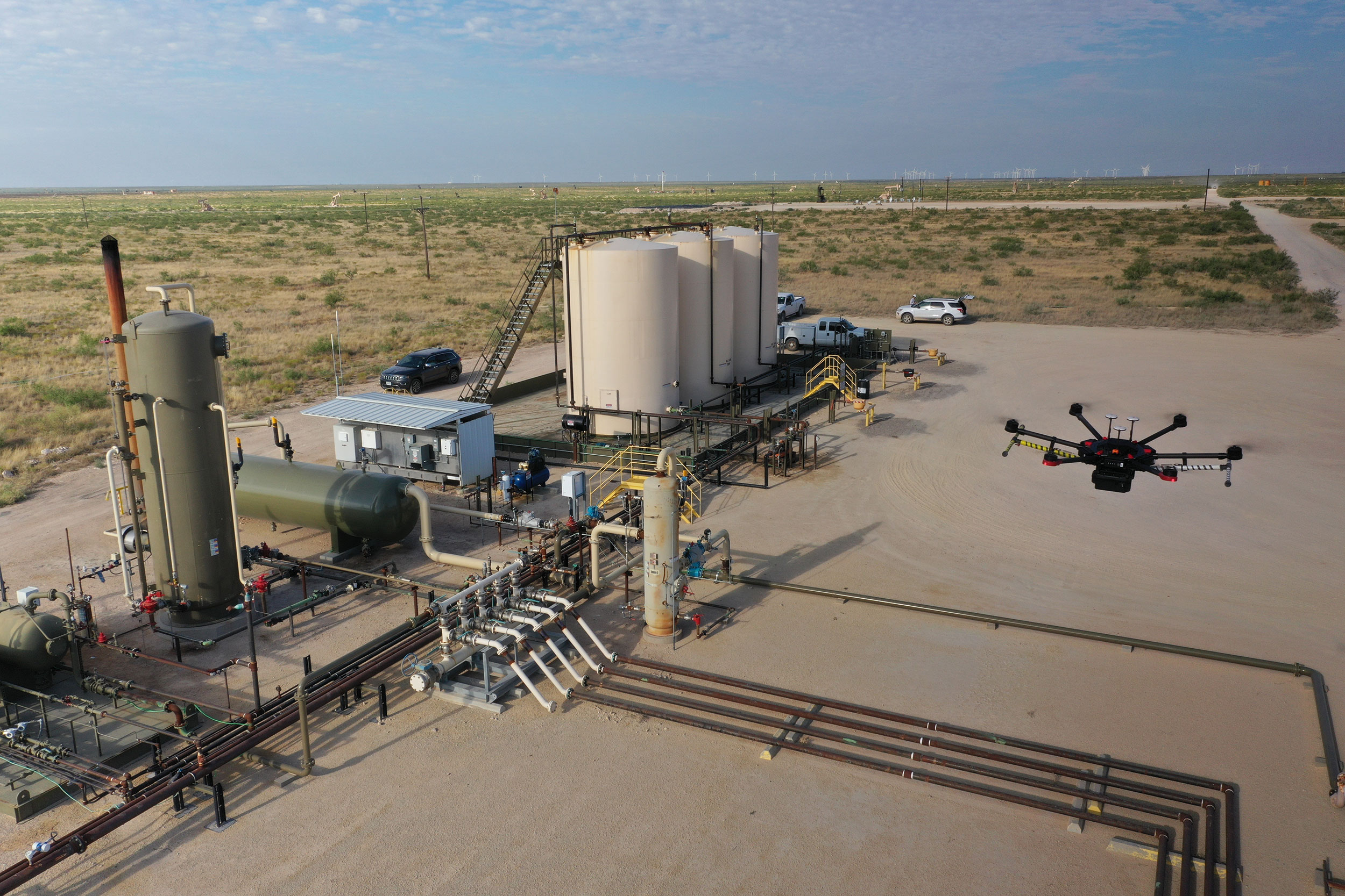 ConocoPhillips Drone Test